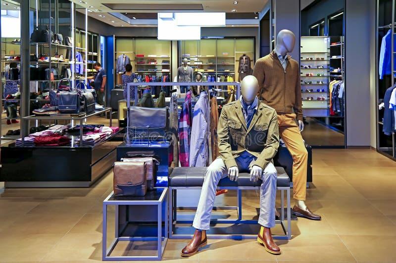 Κύριος μαγαζί λιανικής πώλησης του Hugo, Μακάο στοκ εικόνες με δικαίωμα ελεύθερης χρήσης