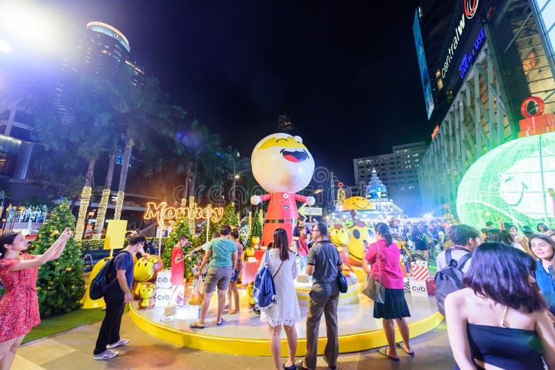 Κύριο άρθρο: Κεντρική πόλη της παγκόσμιας Μπανγκόκ, Ταϊλάνδη, στις 16 Νοεμβρίου 2 στοκ εικόνες με δικαίωμα ελεύθερης χρήσης