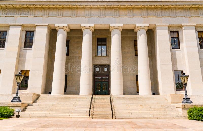 Κύριο κτήριο του Οχάιου στοκ φωτογραφίες με δικαίωμα ελεύθερης χρήσης