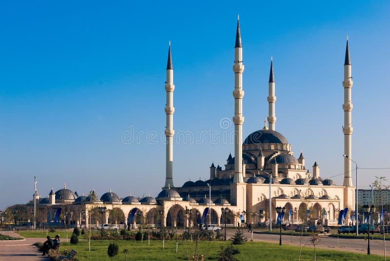 Κύριο μουσουλμανικό τέμενος της τσετσένιας Δημοκρατίας στοκ εικόνες