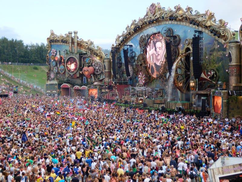 Κύριο στάδιο φεστιβάλ στοκ εικόνες