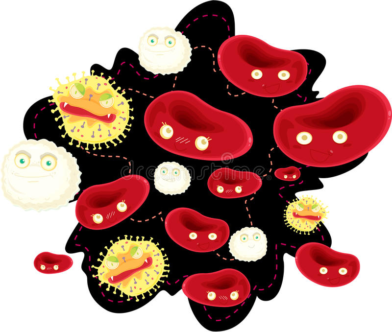 κύτταρα αίματος απεικόνιση αποθεμάτων