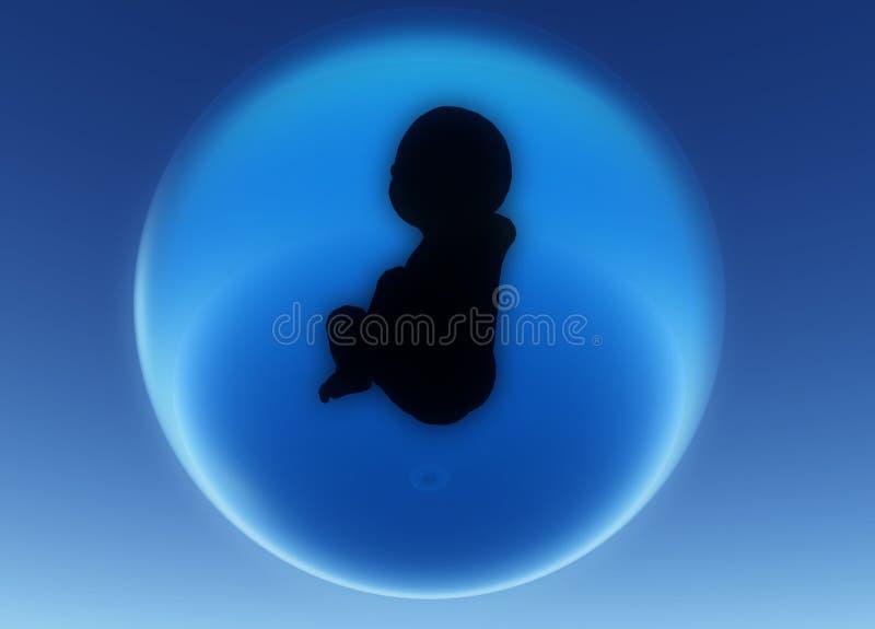 Κύτταρα μωρών απεικόνιση αποθεμάτων