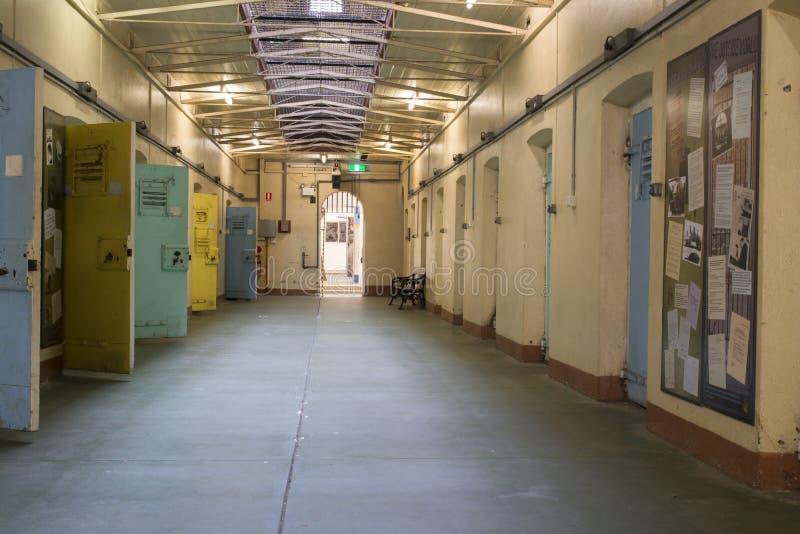 Κύτταρα παραπομπής, κρατητήριο της Αδελαΐδα, Αδελαΐδα, Νότια Αυστραλία στοκ φωτογραφία