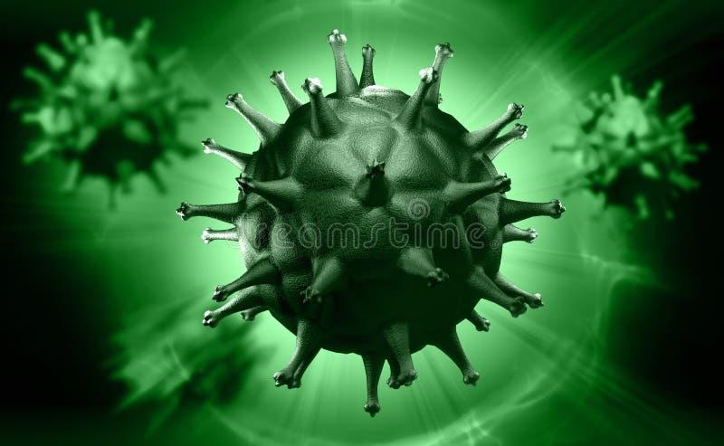 Κύτταρο και κύτταρο αίματος HIV απεικόνιση αποθεμάτων