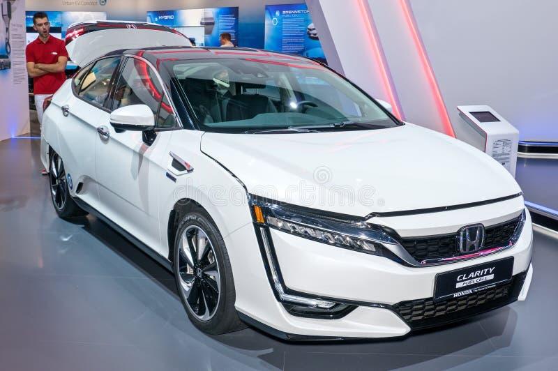 Κύτταρο καυσίμου σαφήνειας της Honda στοκ εικόνα με δικαίωμα ελεύθερης χρήσης