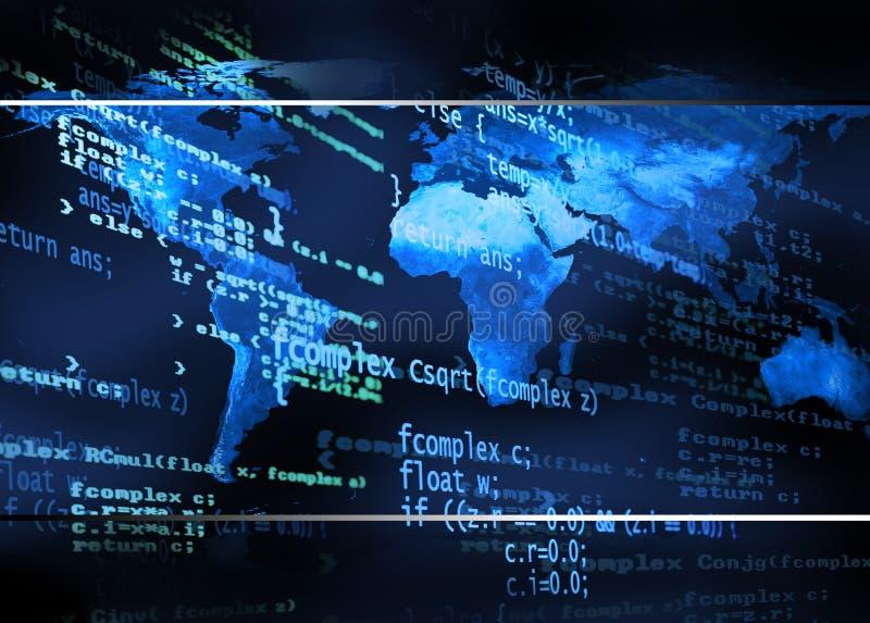 κώδικας ανασκόπησης σφα&iot ελεύθερη απεικόνιση δικαιώματος