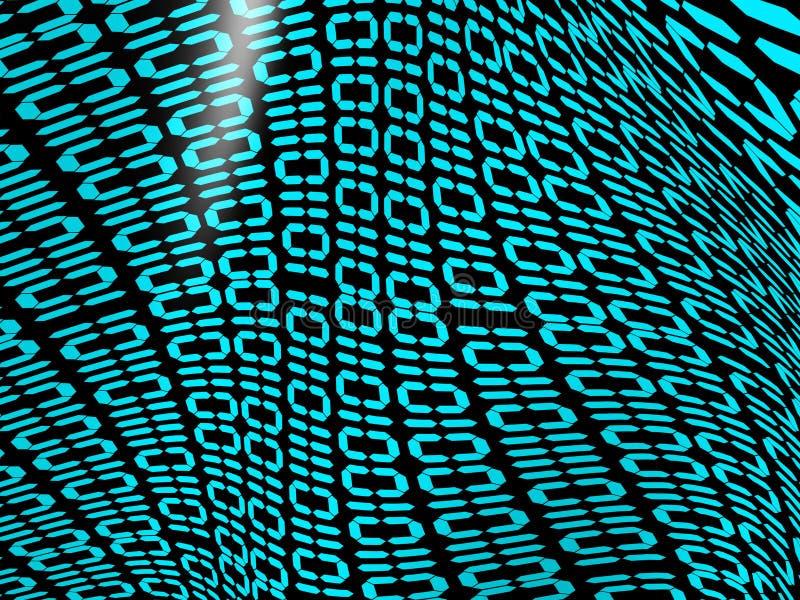 κώδικας ψηφιακός στοκ εικόνα με δικαίωμα ελεύθερης χρήσης