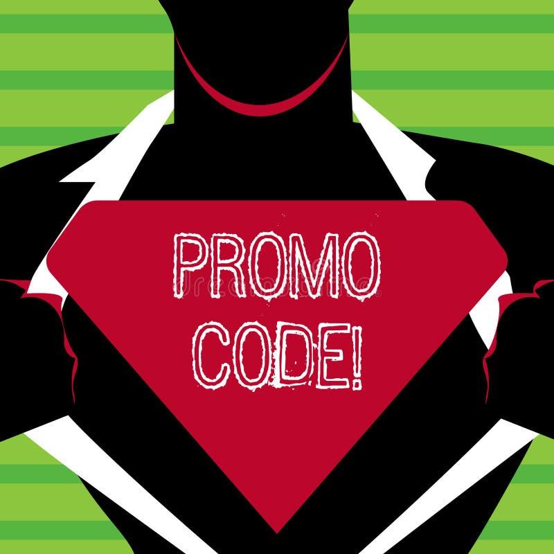 Κώδικας Promo κειμένων γραψίματος λέξης Η επιχειρησιακή έννοια για που αποτελείται τους καταναλωτές αριθμών επιστολών μπορεί να ε ελεύθερη απεικόνιση δικαιώματος