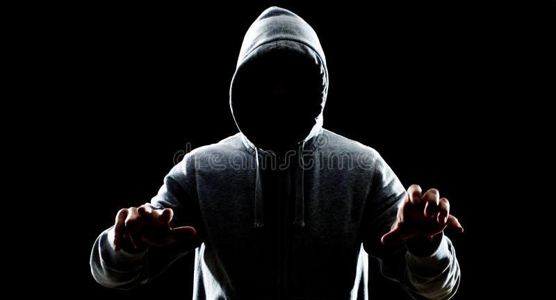 Κλέφτης στη νύχτα στοκ φωτογραφίες