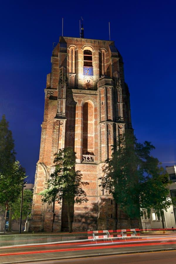 Κλίνοντας πύργος leeeuwarden στοκ εικόνες με δικαίωμα ελεύθερης χρήσης