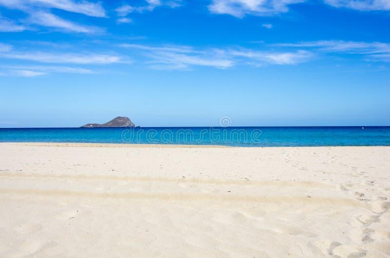 κλίση που αλιεύει το μεσογειακό καθαρό τόνο θάλασσας στοκ φωτογραφία