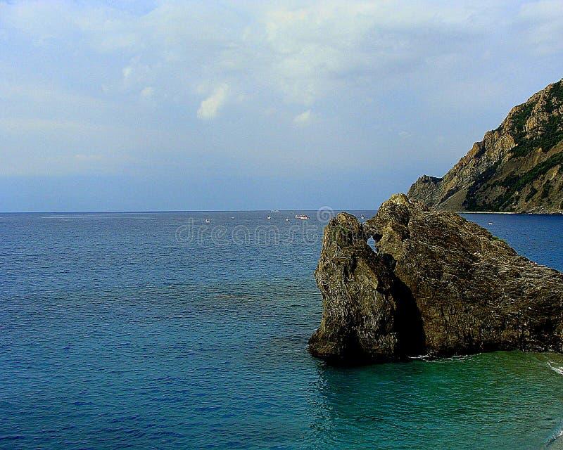 κλίση που αλιεύει το μεσογειακό καθαρό τόνο θάλασσας στοκ εικόνα