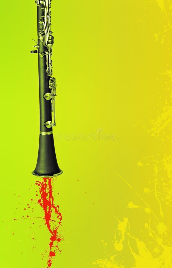 Κλαρινέτο της Jazz στοκ φωτογραφία με δικαίωμα ελεύθερης χρήσης
