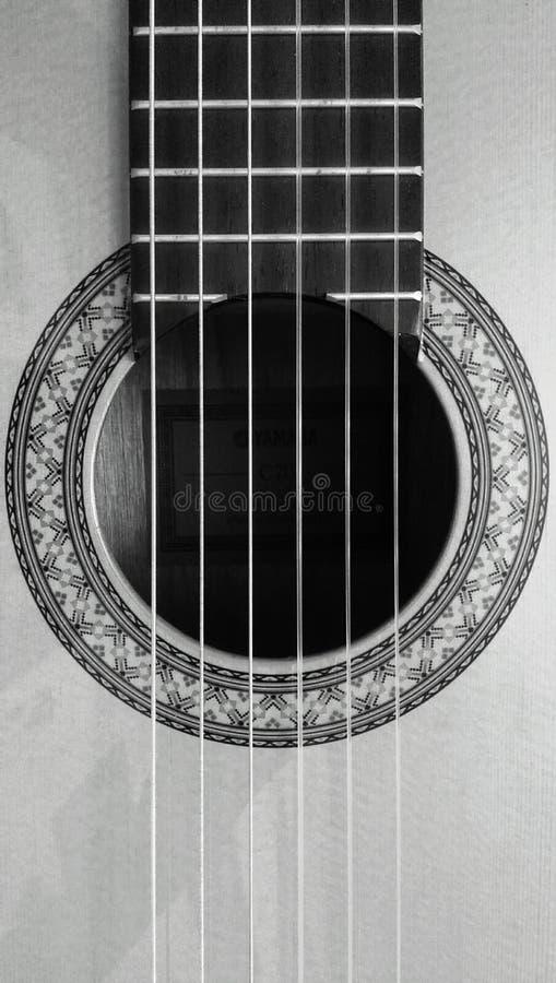 κλασική κιθάρα στοκ φωτογραφία