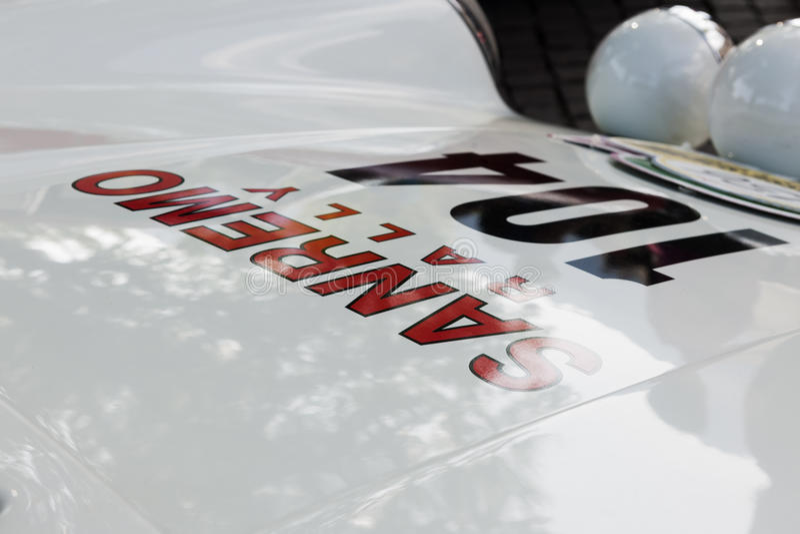 Κλασική cars_2015_Porsche 911 Carrera RS _front κουκούλα του νότιου Τυρόλου στοκ εικόνες