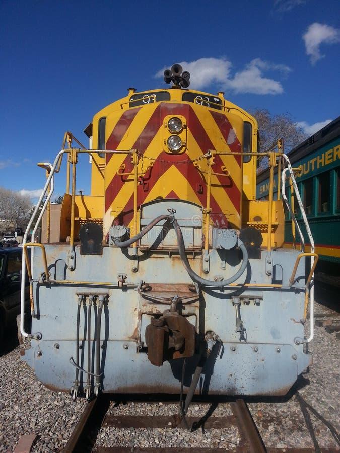Κλασικοί νότιοι σιδηρόδρομοι κινητήριων μηχανών στοκ εικόνες