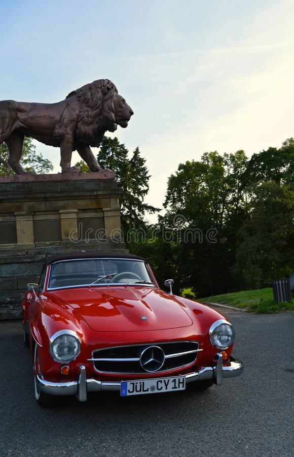 Κλασικός της Mercedes-Benz στοκ φωτογραφία με δικαίωμα ελεύθερης χρήσης