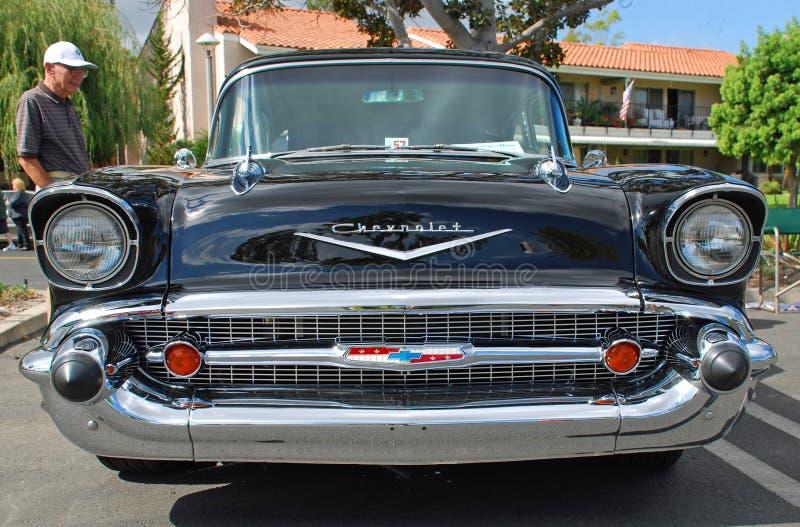 Κλασικός 1957 Chevrolet στοκ εικόνα με δικαίωμα ελεύθερης χρήσης