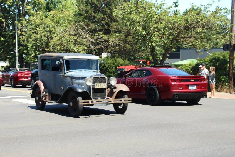 Κλασικό αυτοκίνητο στοκ εικόνα με δικαίωμα ελεύθερης χρήσης