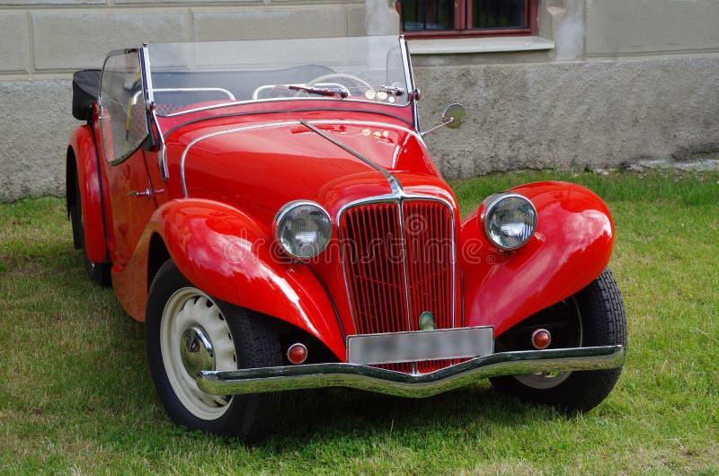 Κλασικό παλαιό αυτοκίνητο - Aero στοκ φωτογραφία με δικαίωμα ελεύθερης χρήσης