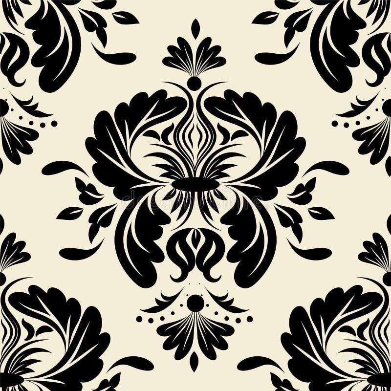 Κλασικό floral σχέδιο απεικόνιση αποθεμάτων