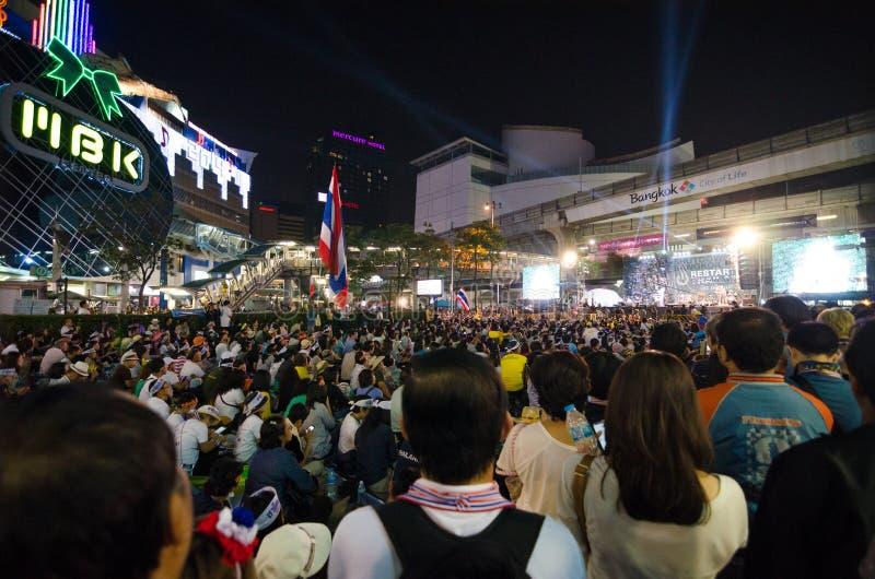 Κλείσιμο Μπανγκόκ. Ταϊλάνδη. στοκ εικόνες