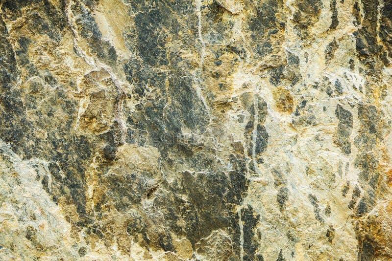 Κλείστε επάνω ή μακροεντολή ενός προσώπου βράχου στοκ φωτογραφίες