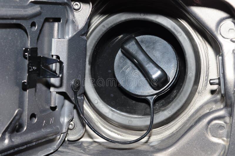 Κλείστε επάνω μιας βενζίνης ΚΑΠ στοκ φωτογραφίες με δικαίωμα ελεύθερης χρήσης