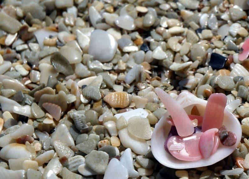 Κλείστε επάνω την άμμο στοκ εικόνα