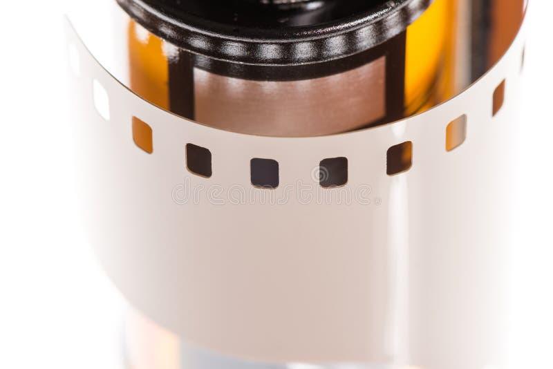 Κλείστε επάνω της ταινίας και του μεταλλικού κουτιού 35mm στοκ φωτογραφίες με δικαίωμα ελεύθερης χρήσης