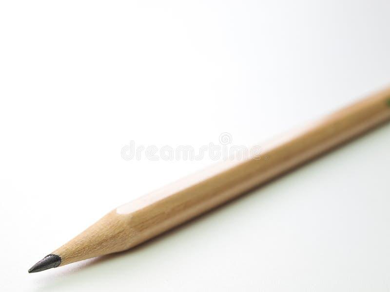 Κλείστε επάνω το μολύβι που απομονώνεται στο καθαρό άσπρο υπόβαθρο στοκ φωτογραφία με δικαίωμα ελεύθερης χρήσης