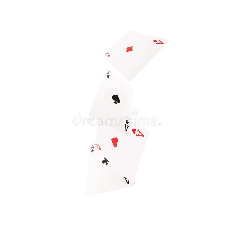 Κλείστε επάνω των μειωμένων καρτών παιχνιδιού οξύτητας στοκ εικόνες