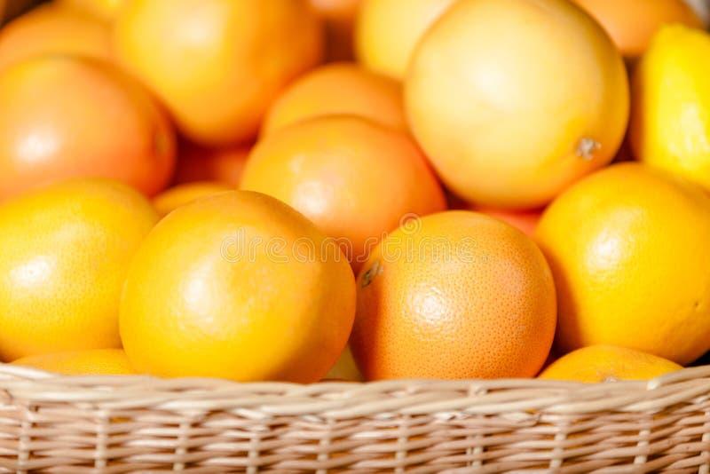 Κλείστε επάνω των πορτοκαλιών στοκ εικόνα