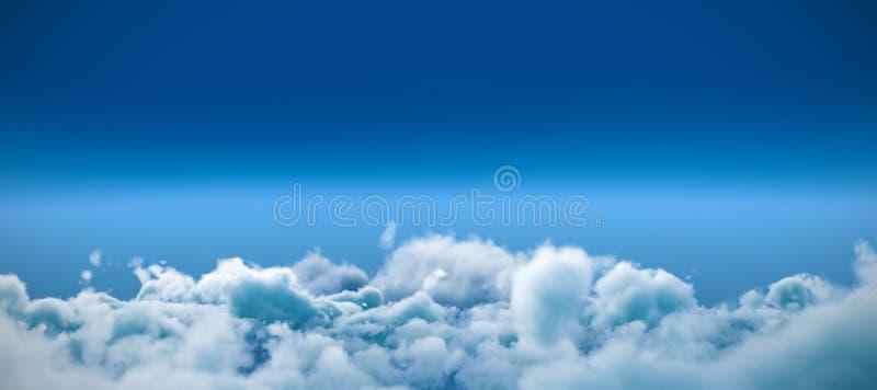Κλείστε επάνω των σύννεφων στοκ εικόνα με δικαίωμα ελεύθερης χρήσης