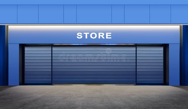 κλειστό κατάστημα στοκ φωτογραφίες με δικαίωμα ελεύθερης χρήσης