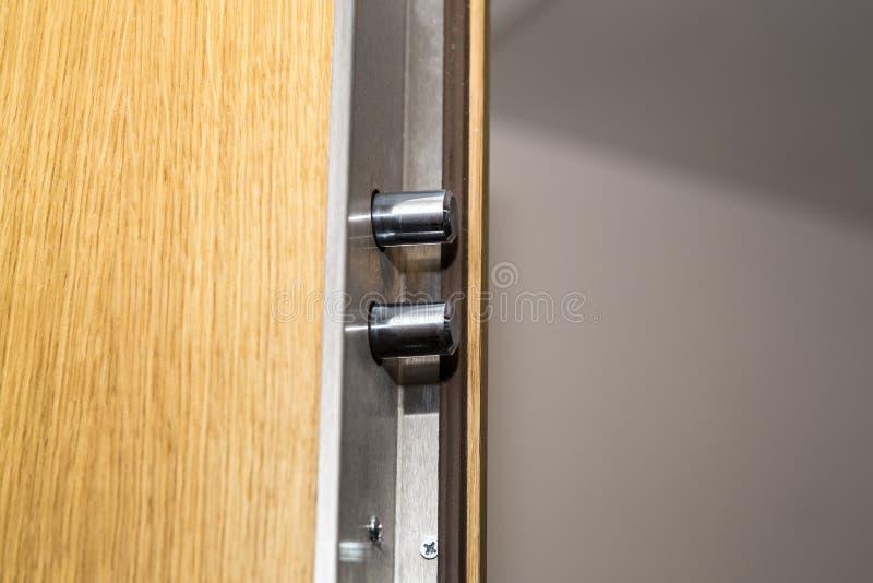 Κλειδαριά πορτών ασφάλειας στοκ εικόνα