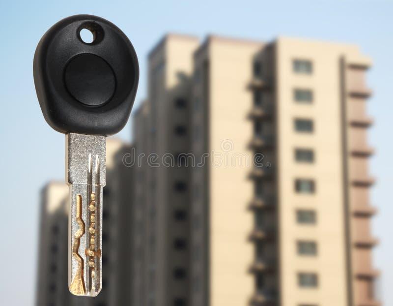 Κλειδιά σπιτιών στοκ εικόνα με δικαίωμα ελεύθερης χρήσης