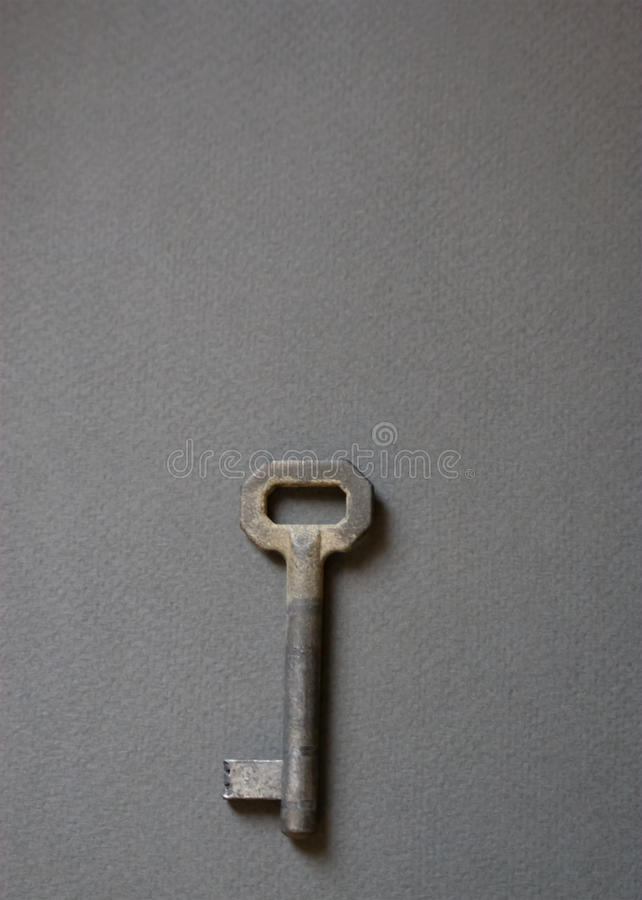 Κλειδιά Olds, στο γκρίζο υπόβαθρο στοκ εικόνες