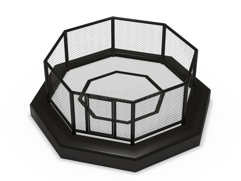 Κλουβί οκταγώνων απεικόνιση αποθεμάτων