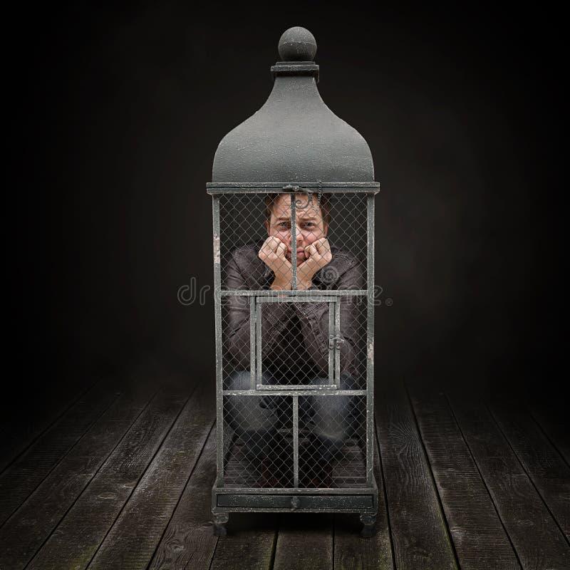 κλουβί στοκ φωτογραφία