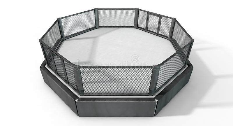 Κλουβί MMA διανυσματική απεικόνιση