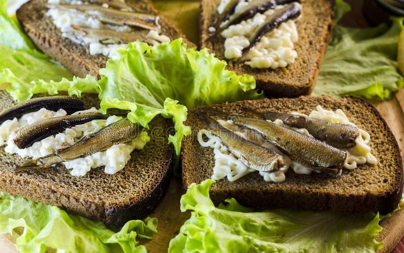 κλυπέες σάντουιτς στοκ εικόνες