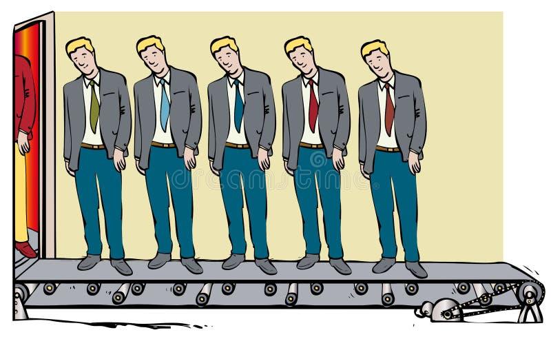 Κλωνοποιημένα άτομα ελεύθερη απεικόνιση δικαιώματος