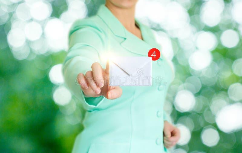 Λάβετε τα ηλεκτρονικά ταχυδρομεία στοκ εικόνες με δικαίωμα ελεύθερης χρήσης