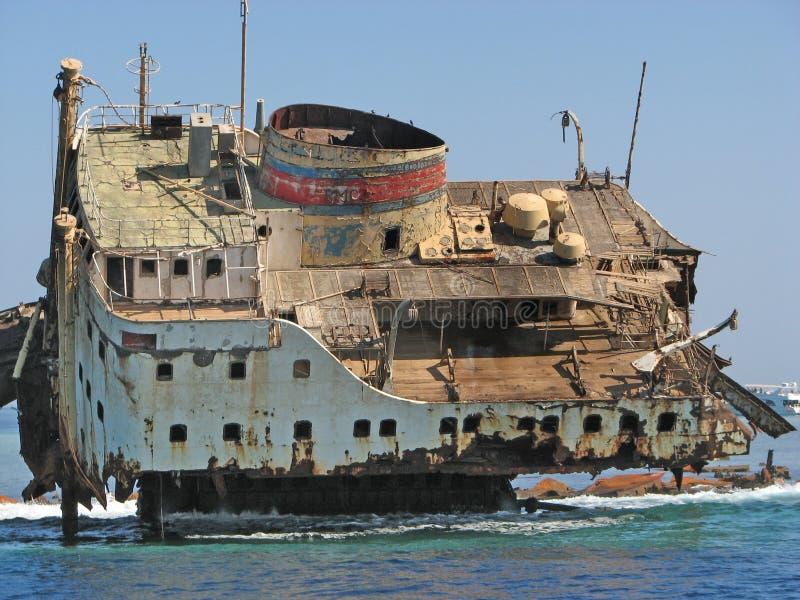 Λάβετε τη βάρκα Ερυθρά Θάλασσα Αίγυπτος στοκ εικόνες