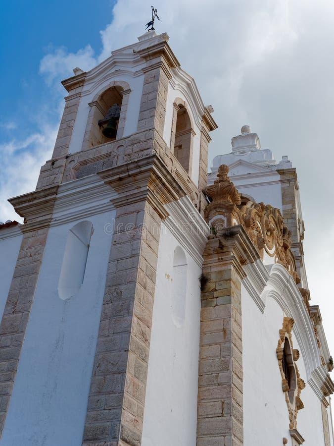 ΛΆΓΚΟΣ, ALGARVE/PORTUGAL - 5 ΜΑΡΤΊΟΥ: Πύργος κουδουνιών του ST Antonys Chu στοκ εικόνες