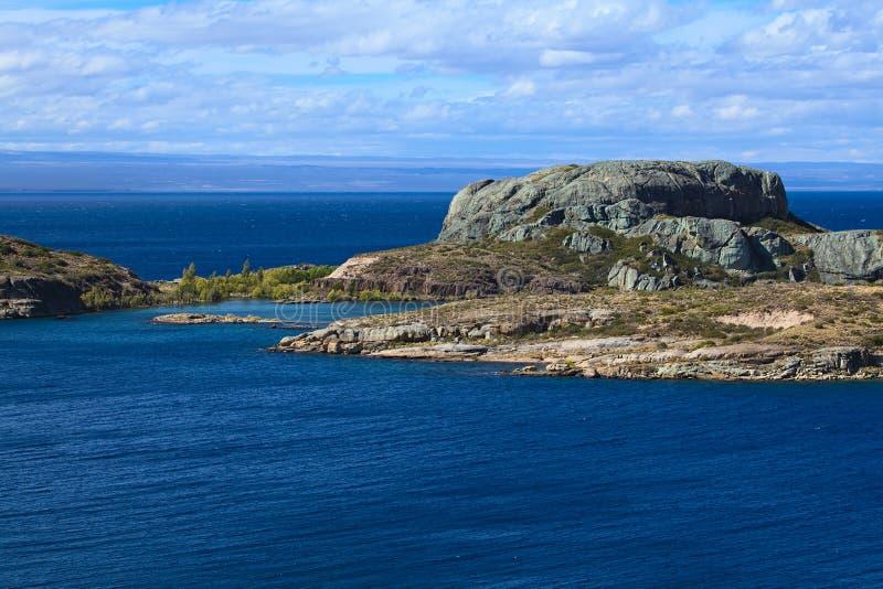 Λάγκο General Carrera Lake στη Χιλή στοκ φωτογραφίες με δικαίωμα ελεύθερης χρήσης