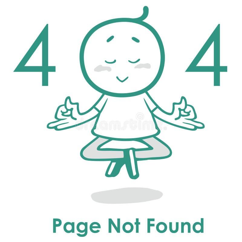 Λάθος 404 σελίδων δημιουργική έννοια 404 ιστοχώρου σχεδίου σχεδιαγράμματος διανυσματική λάθος ιστοσελίδας διανυσματική απεικόνιση