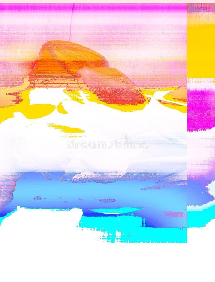 Λάθος υπολογιστών κατά την έκδοση μιας φωτογραφίας Καθιερώνουσα τη μόδα επίδραση δυσλειτουργίας απεικόνιση αποθεμάτων
